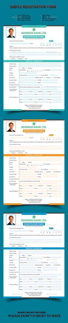 Registration Form - employee registration form