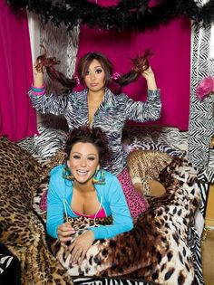 Snooki && Jenni , haters gonna hate but I absolutely adore both of them!!, especially since there from where I'm from!!.