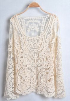 Cute lace blouse shirt tops