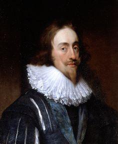 Portrait of King Charles I (1600–49), Studio of Sir Anthony Van Dyck (1599-1641)