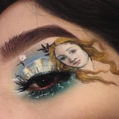 when you gotta wear a painting on yo face to kill that job interview at the museum The Birth of Venus {Sandro Botticelli} Out of the many paintings and artists I admire, this particular painting has always impressed me the… Makeup Goals, Makeup Inspo, Makeup Inspiration, Beauty Makeup, Hair Makeup, Beauty Art, Cute Makeup, Pretty Makeup, Make Up Art
