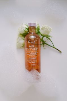 Leslie Musser sharing the best postpartum skincare routine with Fresh cosmetics for a new mom on one brass fox