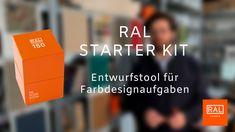 Das RAL STARTER KIT ist das perfekte Gestaltungstool für den Einstieg in die Farbgestaltung, Architekten, Gestalter und alle, die mit Farbe arbeiten.  Wie genau ist es aufgebaut? Wo kann man es anwenden? Was war die Idee hinter der Entwicklung?  Prof. Dipl.-Des. Timo Rieke von der HAWK Hochschule Hildesheim/Holzminden/Göttingen und dem Institute International Trendscouting (IIT) erklärt, wie das Farbtool funktioniert, welche Möglichkeiten es bietet und wie es entstanden ist. Ral Colours, Kit, Design, Matching Colors, Architects, Design Comics