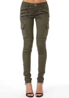 Spoon Zipper Cargo Pant - View All Pants - Pants - Clothing - Alloy Apparel