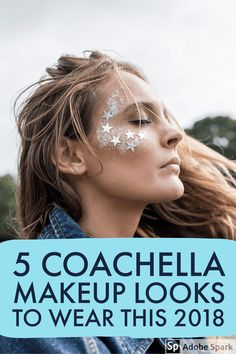 Easiest places to park for Coachella? Best beauty looks for Coachella? Oh and we got you covered for all those high glam festival Coachella makeup looks you will need to wear to be the life of the party. Concert Makeup, Coachella Makeup, Coachella Hair, Coachella Looks, Coachella 2018, Boho Festival Makeup, Festival Makeup Glitter, Glitter Party, Glitter Confetti