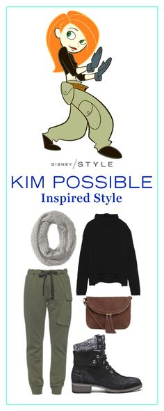 Do you like cargo pants and black turtlenecks? If you do, there's a good chance you've got Kim Possible style.