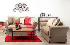 ΔΙΑΦΑΝΟ - Καναπές τριθέσιος LIZ Couch, Furniture, Home Decor, Homemade Home Decor, Sofa, Couches, Home Furnishings, Sofas, Sofa Beds