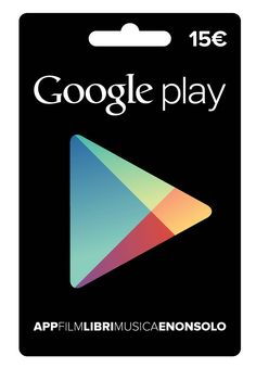 Alimenta il divertimento con la Gift Card Google play per scaricare musca, giochi e film, Chromecast (€ 15)  -cosmopolitan.it