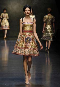 Dolce & Gabbana Fall 2013 Collection
