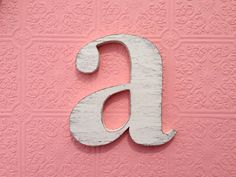 nursery wall letters wood  Letter a you choose by OldNewAgain, $28.00