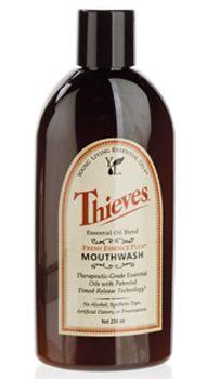 Living-Essential-Oils.com - Thieves Fresh Essence Mouthwash - 8oz, $14.47 (http://www.living-essential-oils.com/thieves-fresh-essence-mouthwash-8oz/)