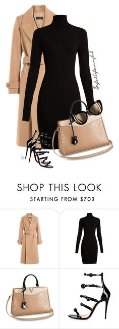 """#10"" by stylewithlammybel-1 ❤ liked on Polyvore featuring Joseph, Wolford, Christian Louboutin and Chanel"