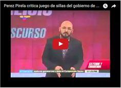 """Perez Pirela le tira a Maduro por el """"juego de las sillas""""  http://www.facebook.com/pages/p/584631925064466"""