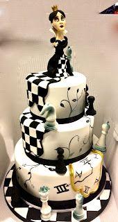 Cake Designer: Torta regina degli scacchi