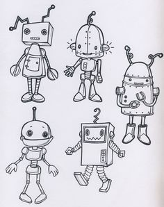 Robots-That's a normal theme for a nursery right?