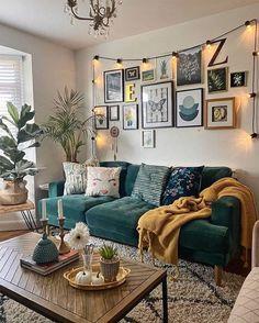 Home Living Room, Apartment Living, Living Room Designs, Living Room Decor, Retro Living Rooms, Modern Living, Apartment Ideas, Living Room Inspiration, Home Decor Inspiration
