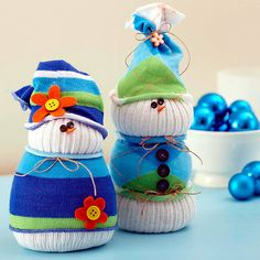 Snowman Crafts - Air for Christmas decoration
