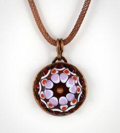 Bowerbird Studio/Tabitha Pearson: Handmade lampwork glass bead set in copper. Sold. (scheduled via http://www.tailwindapp.com?utm_source=pinterest&utm_medium=twpin&utm_content=post16890722&utm_campaign=scheduler_attribution)