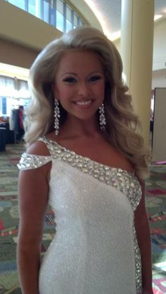 Big pageant hair