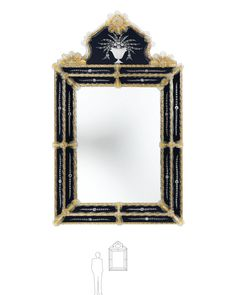 Arte Veneziana - Specchio stile veneziano - 08006