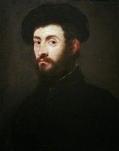 Retrato de un hombre - Tintoretto