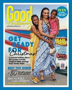 Our November/December issue with cover star Pearl Thusi is on sale now! Pearl Shop, Cool Magazine, Family Show, Beautiful Cover, Good Housekeeping, Summer Beauty, Best Relationship, 5 Ways, South Africa