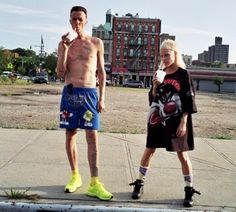 This band is wildly compelling. I have a weird little spot in my heart for you Die Antwoord.