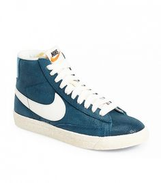 I Learned Everything I Know About Fashion From My Boyfriend. Nike  Blazer   Vintage High Top Basketball Sneaker (Women) ... ba007f7a3