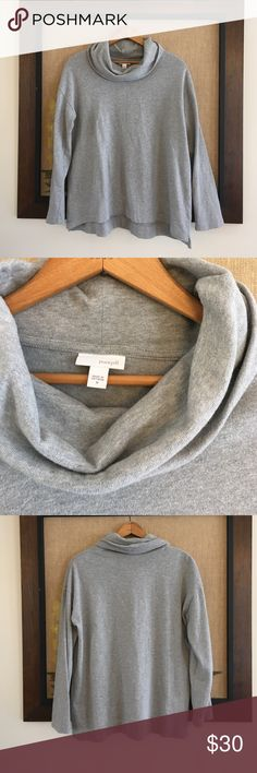 Pure Jill Oversized Cowl Neck Sweater Beautiful and soft 100% cotton Cowl Neck Sweater by J. Jill. Great condition. J. Jill Sweaters Cowl & Turtlenecks