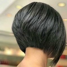 Short bob hairstyles 823877325569818328 - Layered Inverted Bob – Cute Inverted Bob Haircuts: Sexy Short & Long Inverted Bob Hairstyles Source by toptrendsguide Short Stacked Bob Haircuts, Short Bob Cuts, Inverted Bob Hairstyles, Medium Bob Hairstyles, Short Hair Cuts, Haircut Short, Stacked Bob Short, Layered Inverted Bob, Simple Hairstyles