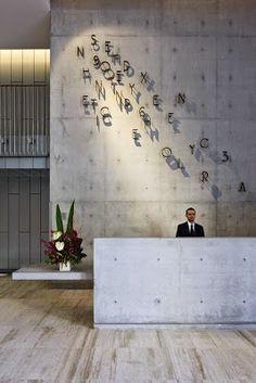 modèles uniques et inhabituelles bureau de réception, bureaux d'accueil intéressants,design unique