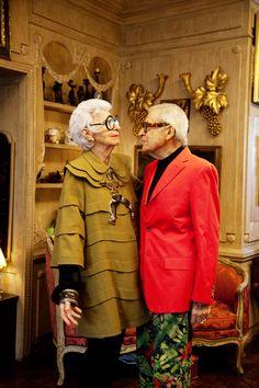 Iris and Carl Apfel