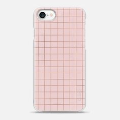 Casetify iPhone 7 Snap Case - Simply Pink 3 by Emanuela Carratoni