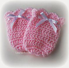 Crochet Baby Mittens | Vintage Swing Crochet Baby Mitts A Free Crochet Pattern