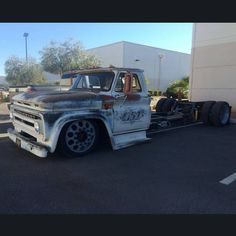 """Stoked to drive this truck, cool pic of my C60 outside of my duudes @gsi_machineandfabrication shop were it was built"""