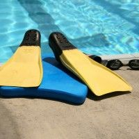 Fins And Kickboard Swim Workout For Triathletes