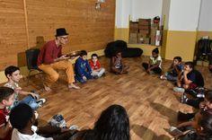 Palermo, i bambini di Ballarò disegnano la fiaba del quartiere