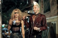 Adrien Brody in Summer of Sam Summer Of Sam, 1990s Movies, Adrien Brody, Nostalgia, Punk, Leather Jacket, Jackets, Women, Hollywood