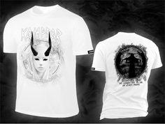 KAMPFAR - Trolldomssanger, white T-Shirt