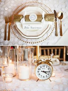 Gorgeous+Gold+&+White+New+Year's+Eve+Party