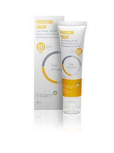 Protetor Solar FPS 60 - Pele Acneica. Sua fórmula de rápida absorção e  textura leve proporciona ultraproteção UVB e UVA. Possui ativos que  auxiliam no ... 947f435e3e