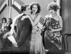 """Clyde Cook, Myrna Loy, Louise Fazenda– in """"Pay as You Enter"""" (1928)"""