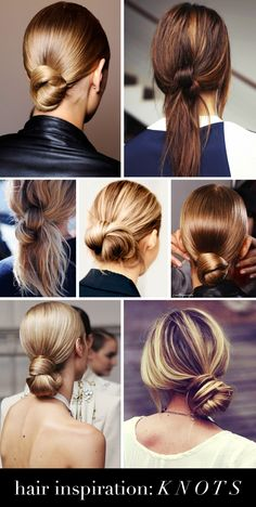 Hair inspiration: knots - Passions for Fashion