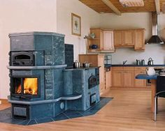 Masonry Heater.  Canary safe, efficient, beautiful.
