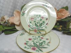 Lenox, China Dinnerware Country Garden pattern #W302 Set 2 Salad plate(s) #Lenox #Lenox