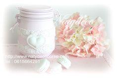Retrouvez tous mes bocaux et fleurs hortensias en vente sur mon site  http://www.natydecocorse.com
