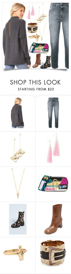 """""""Your own style"""" by denisee-denisee ❤ liked on Polyvore featuring 360 Sweater, Closed, Elizabeth and James, Eddie Borgo, Marc Jacobs, Alice + Olivia, Joseph, Madewell and Alexis Bittar"""