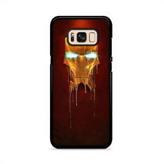 Ironman Melted Gold Mask Samsung Galaxy S8 Plus Case | Caserisa