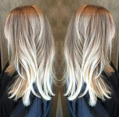 Blonde bayalage- may show this to my hairdresser