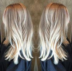 Blonde bayalage